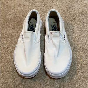Slip On White Vans